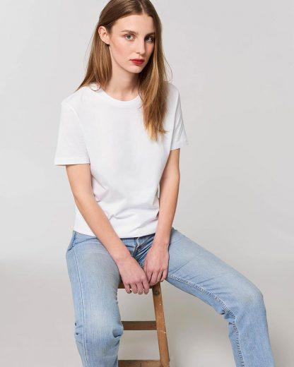 Organic Creator T-Shirt White - Star Earth