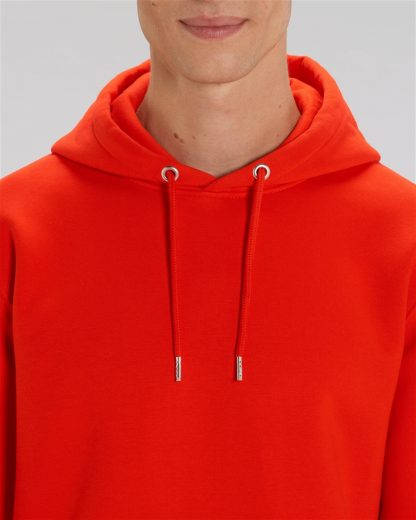 Bright Red Unisex Cruiser Iconic Hoodie - Star Earth