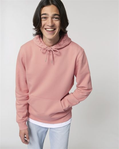 Canyon Pink Unisex Cruiser Iconic Hoodie - Star Earth