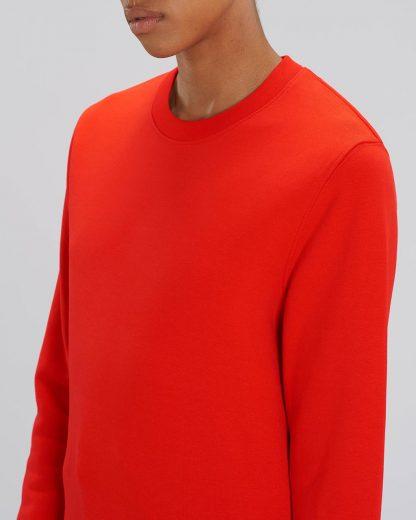 Changer Sweatshirt Bright Red - Star Earth
