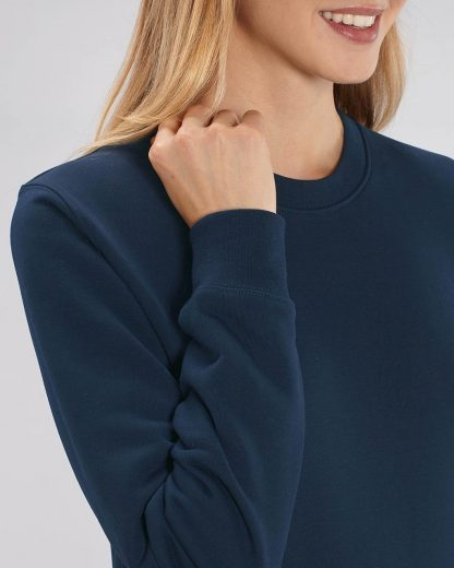 Changer Sweatshirt French Navy - Star Earth
