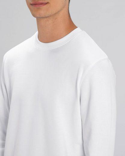 Changer Sweatshirt White - Star Earth