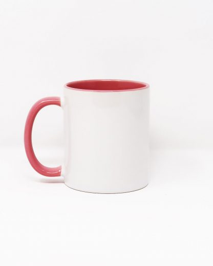 Coloured Insert Mug Pink