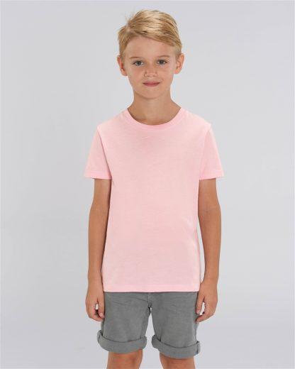 Cotton Pink 100% Organic Kids T-Shirt