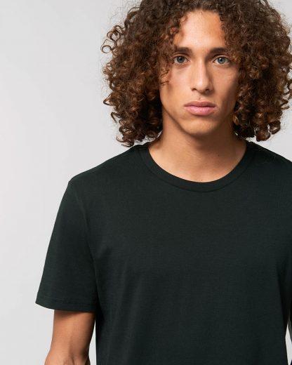 Organic T-Shirt Black - Star Earth