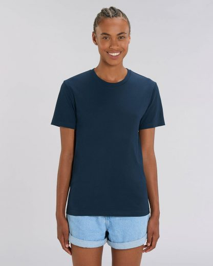 Organic T-Shirt French Navy - Star Earth