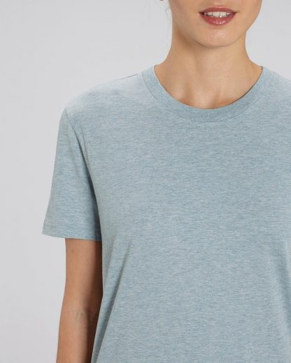 Organic T-Shirt Ice Blue - Star Earth