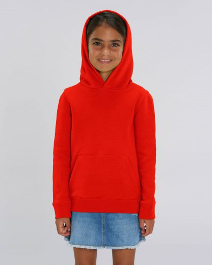 Bright Red Mini Cruiser Hoodie