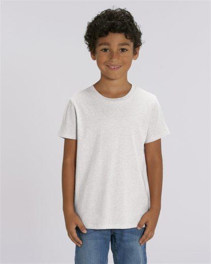 White 100% Organic Kids T-Shirt